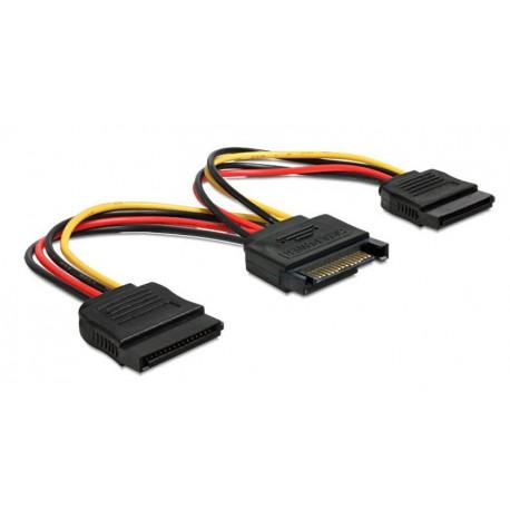 Kabel napajalni za trdi disk SATA na 2x SATA