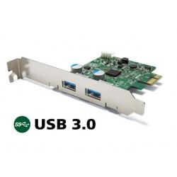 Kartica PCIe USB3.0 z 2xA, Buffalo IFC-PCIE2U3