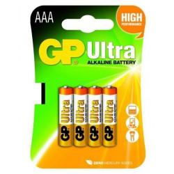 Baterija GP 4xAAA / LR03 1,5V alkalna Ultra Alkalna