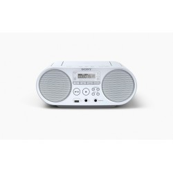 SONY radio MP3/CD z USB vhodom v beli barvi, ZSPS50W.CET