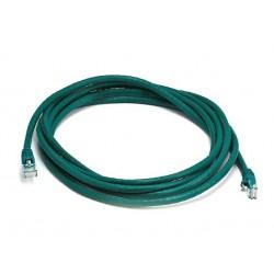 Priključni kabel za mrežo Cat5e UTP 1.5m zelen