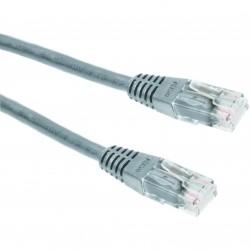 Priključni kabel za mrežo Cat6 UTP 1m siv
