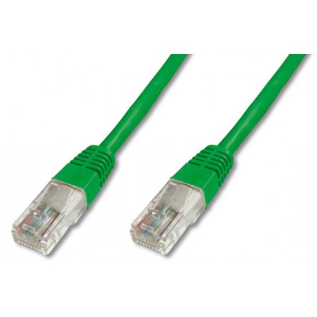 Priključni kabel za mrežo Cat5e UTP 1m zelen