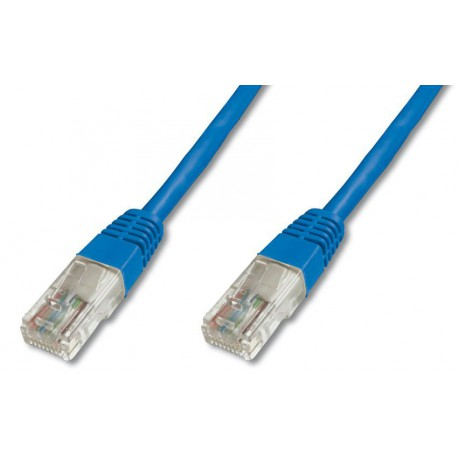 Priključni kabel za mrežo Cat5e UTP 2m moder