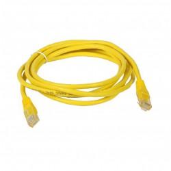 Priključni kabel za mrežo Cat5e UTP 2m rumen
