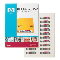 Storage HP Ult,3-RW label pack (Q2007A)