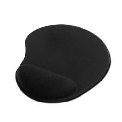Podloga za miško gel črne barve
