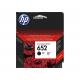 Črnilo HP F6V25AE (652), črno