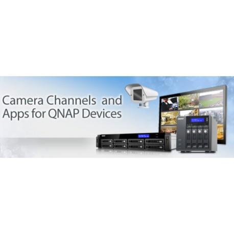 QNAP licenca za 2 dodatna snemalna kanala, LIC-CAM-NAS-2CH
