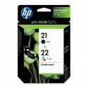 Črnilo HP SD367AE (21/22), komplet
