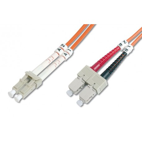Optični kabel MM 50.0 LC-SC 2m