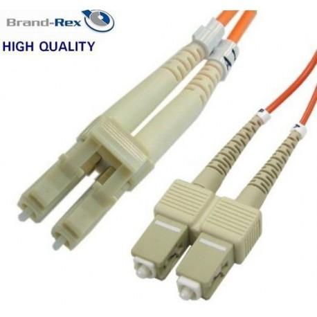 Kabel optični patch MM 50.0 SC - SC 2m Brand-Rex
