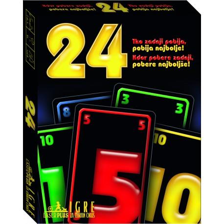 Družabna igra 24 - igra s kartami