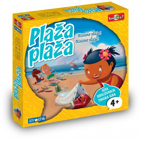 Družabna igra Plaža plaža
