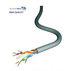 Mrežni kabel Cat6a UTP, mehki, neoklopljen 4x2 AWG23 HF1 BrandRex