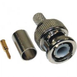 Konektor BNC RG59/62 crimp (10/1)