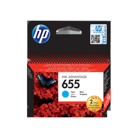 Črnilo HP CZ110AE (655), cyan