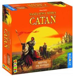 Družabna igra Naseljenci otoka Catan - razširitev Mesta in vitezi