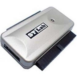 Čitalec diskov USB 2.0 za IDE/SATA StLab U-390