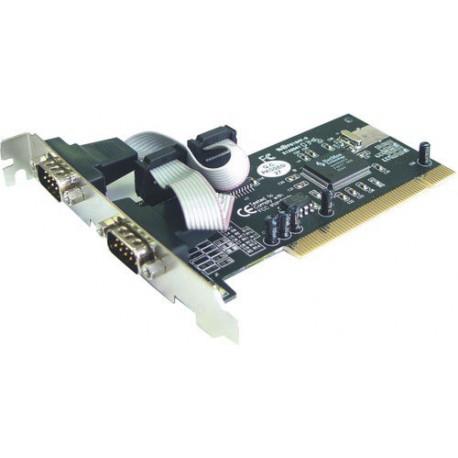 Kartica 2x serijski port, PCI, StLab I-390