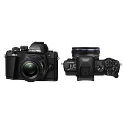 Digitalni fotoaparat OLYMPUS OM-D E-M10 II črn + 14-42mm 1:3.5-5.6 EZ črn