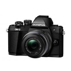Digitalni fotoaparat OLYMPUS OM-D E-M10 II črn + EZ-M14-42mm II R črn