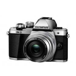 Digitalni fotoaparat OLYMPUS OM-D E-M10 II sr + 14-42mm 1:3.5-5.6 EZ srebrn