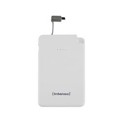 Prenosna baterija INTENSO Powerbank S5000 SLIM bela, vgrajen microUSB (7332522)