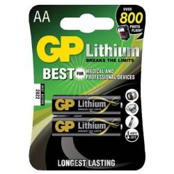 Baterija 2x AA GP LITHIUM 1,5V