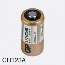 Baterija CR123A GP 3V litijeva