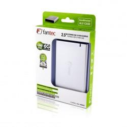 """Ohišje za disk 2.5"""" USB 3.0 Fantec ALU-15MMU3 srebrno"""