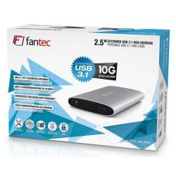 """Ohišje za disk 2.5"""" USB 3.1 tip-C Fantec ALU-25U31 srebrno"""