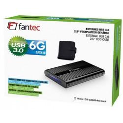 """Ohišje za disk 2.5"""" USB 3.0 Fantec DB-228U3-6G ALU črno"""