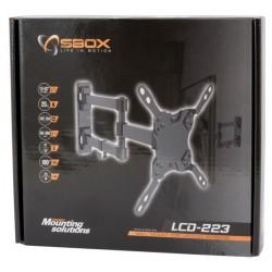 """Stenski nosilec za TV / monitor 13-42"""" SBOX LCD-223 črn"""