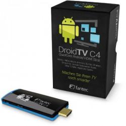 Fantec DroidTV C4 Quad Core Android TV Stick HDMI
