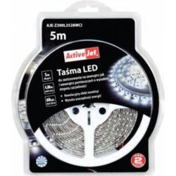 LED trak 5m za zunanjo uporabo ActiveJet AJE-Z300L3528WCI, hladna svetloba