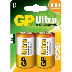 Baterija 2x tip-D 1.5V alkalna GP13A GP Ultra 3/Z2250