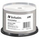 Mediji CD-R 700MB 52x Verbatim THERMAL print. Spindle-50 No ID (43756)