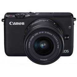 Digitalni brez-zrcalni fotoaparat CANON EOS M10 + EFM15-45IS STM, črn