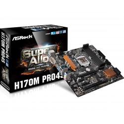 Matična plošča ASRock 1151 H170M Pro4S, DDR4