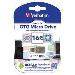 USB ključek 16GB Verbatim OTG Micro Drive Metal 49825