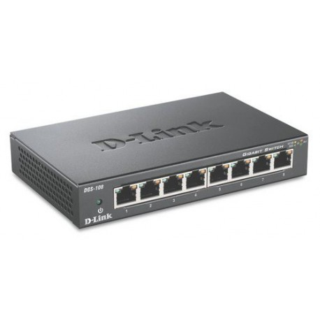 Stikalo (switch) 8 port 10/100/1000 D-Link DGS-108