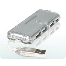 USB HUB 1x USB2.0 na 4x USB2.0 Manhattan