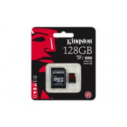 Spominska kartica MicroSDXC 128GB UHS-1 Class3 Kingston SDCA3/128GB