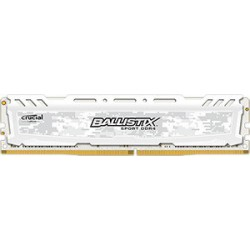 Pomnilnik DDR4 16GB 2400 Crucial Ballistix Sport LT White, BLS16G4D240FSC