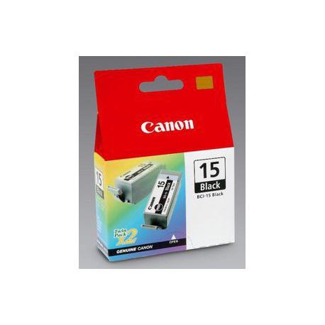 Črnilo Canon BCI-15Bk (2 kosa), črno
