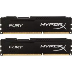 Pomnilnik DDR3 16GB (2x8GB) 1600MHz KINGSTON Hyperx Fury black, HX316C10FBK2/16