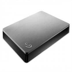 "Zunanji trdi disk 2,5"" 4TB USB 3.0 SeagateBACKUP PLUS, srebrn, STDR4000900"