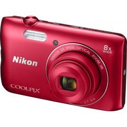 Digitalni fotoaparat COOLPIX A300 (rdeč), VNA963E1