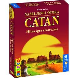 Družabna igra Catan - hitra igra s kartami